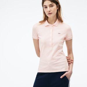 🌷 Lacoste Slim Fit Stretch Mini Cotton Pique Polo